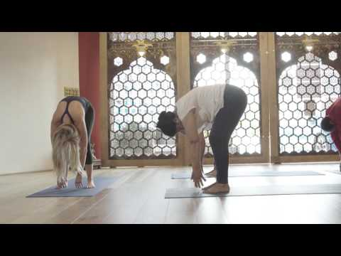 Yoga for calm & relaxation (Arabic)