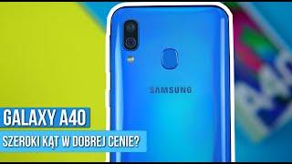 Samsung Galaxy A40 - Recenzja PL - Bardziej OPŁACALNY niż A50? / Mobileo [PL]