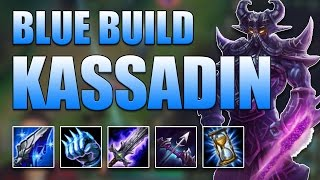 BLUE BUILD KASSADIN MID - League of Legends