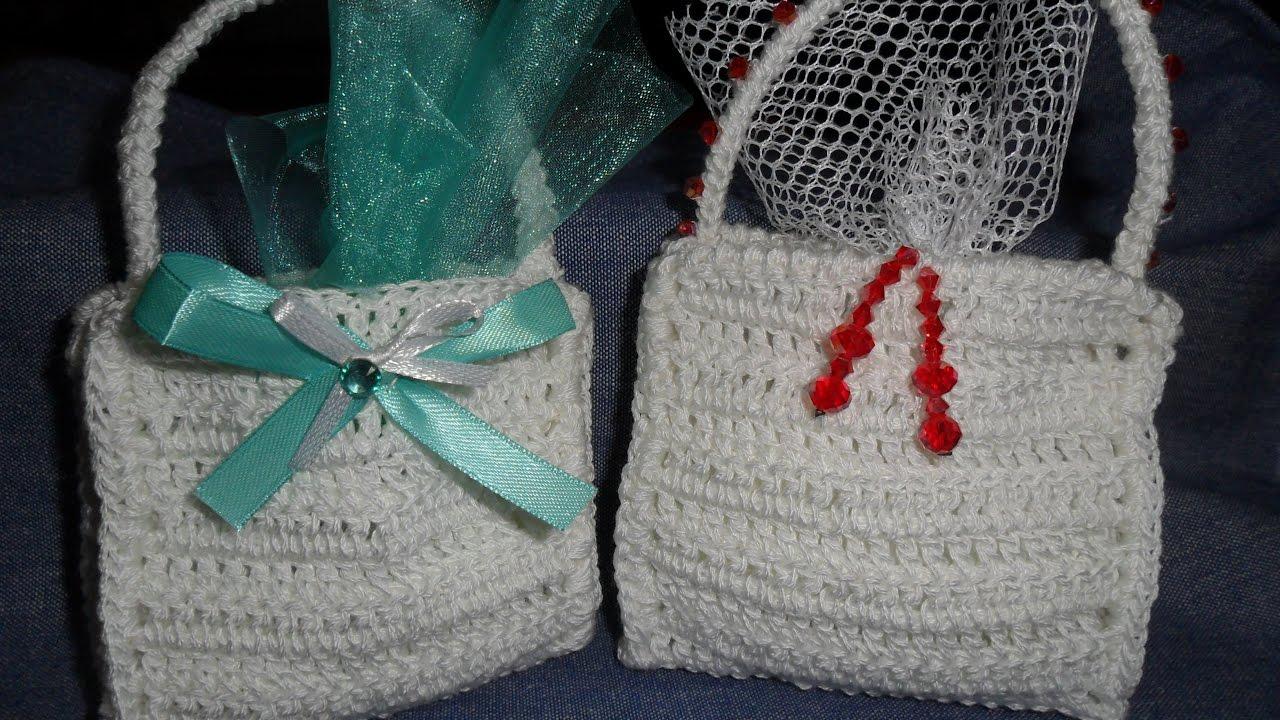 spesso Borsetta bomboniera all'uncinetto/crochet handbag/bolso de  OH33
