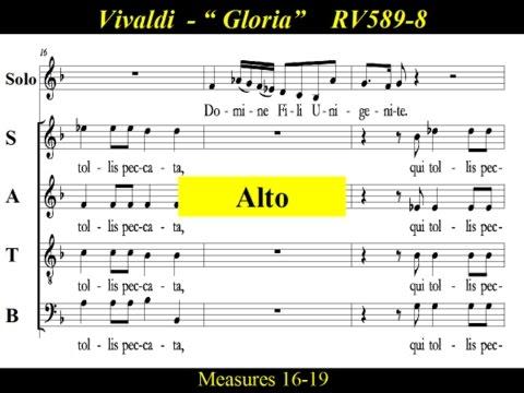Vivaldi - Gloria - RV589 - 8 Domine Deus, Agnus Dei - Alto