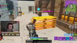 Intense tilted tower Game ! Arg player !