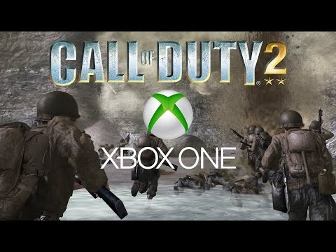 Call of Duty 2 Xbox One Gameplay Part 1 - OH THE MEMORIES