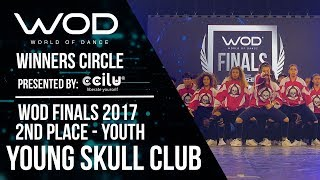 Young Skull Club | 2nd Place Upper | Winner's Circle | World of Dance Finals 2017 | #WODFINALS17