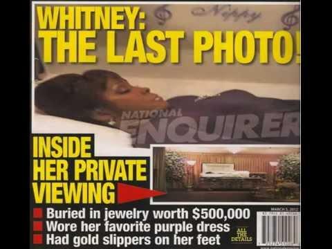 Photo Whitney Houston 39 S Dead Body In Open Casket Coffin