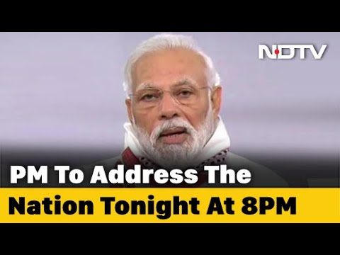 PM Modi To Address Nation At 8 pm Day After Chief Ministers' Meet On Lockdown