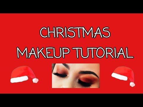 Christmas Makeup & Hair Tutorial