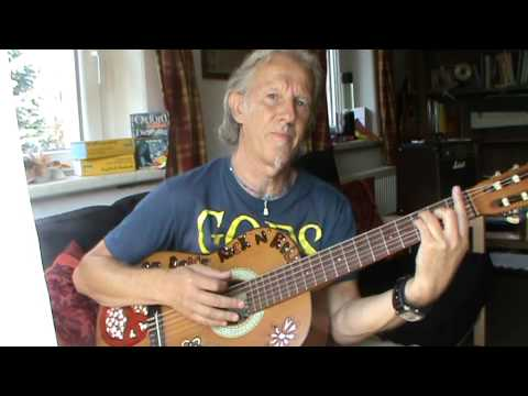 Ziggy Stardust guitar lesson for beginners