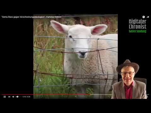 Schaf horizont, geschnitten von Rechtsmensch