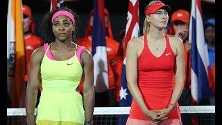 Serena Williams v  Maria Sharapova Feud Reignites