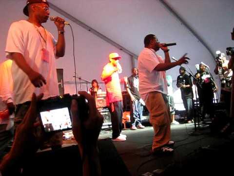 "Brand Nubian (Live) ""All for One"" @ BKHH festival 09'"