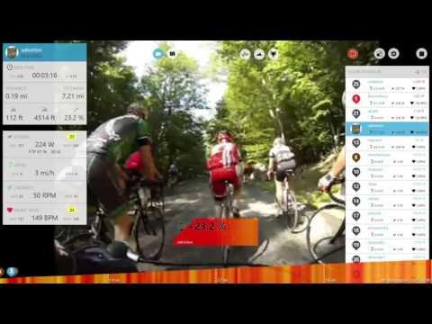 CycleOps Virtual Training - Mt Washington Climb - 2015 11 15 1224 29