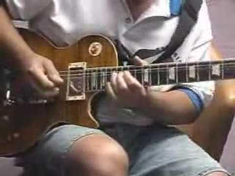 Blues improv using G-dec 30 and Epi Les Paul