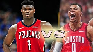 New Orleans Pelicans vs Houston Rockets Full Game! February 2, 2020 NBA Season NBA 2K20