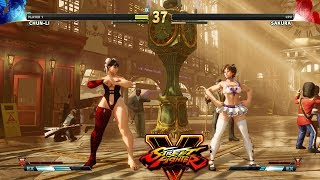 Street Fighter V AE Chun Li vs Sakura PC Mod