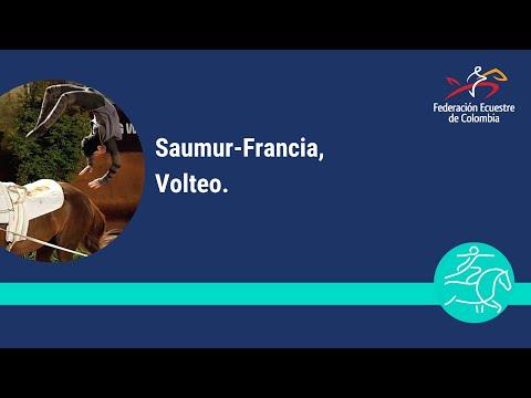 Vaulting SAUMUR FRANCIA