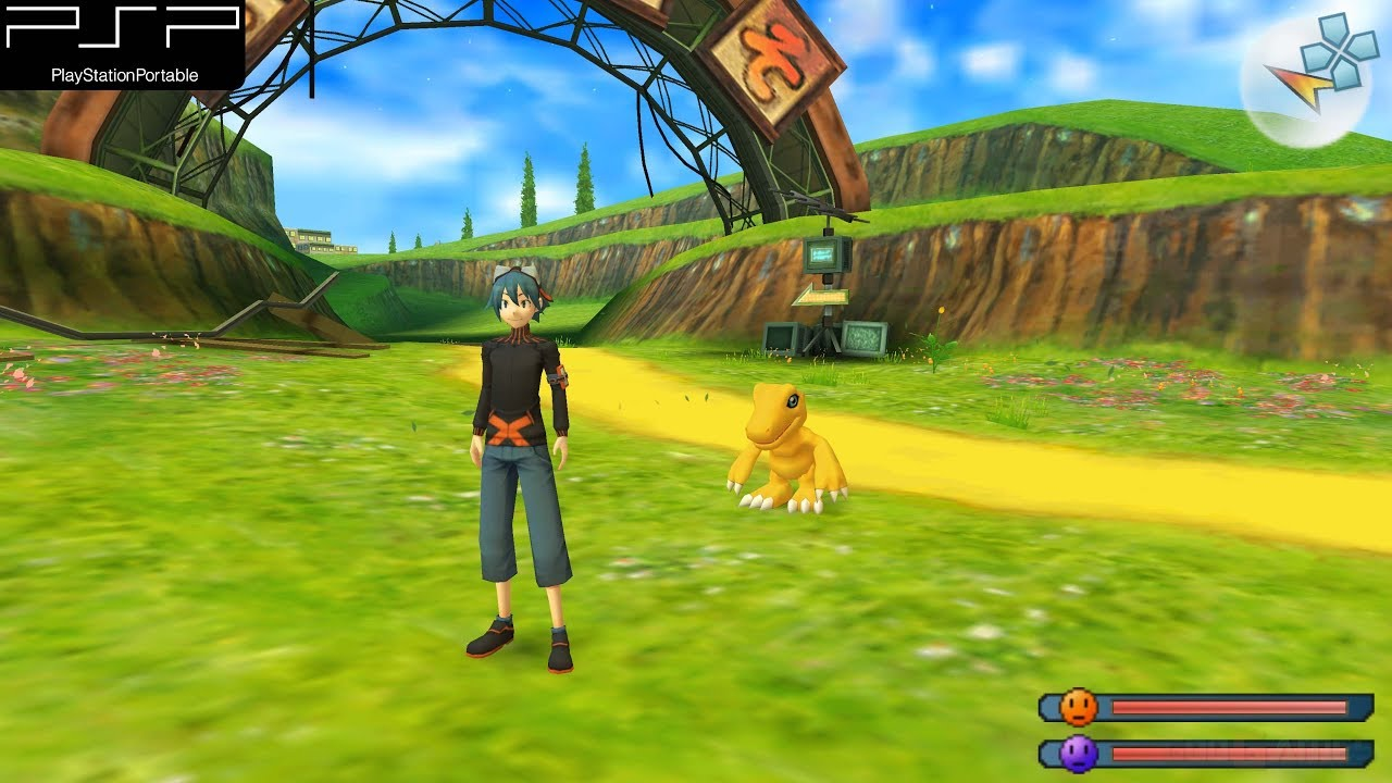 Digimon World Re Digitize Psp Gameplay 4k 2160p Ppsspp Youtube