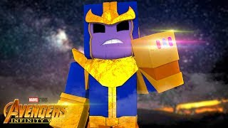 Minecraft Infinity War - THANOS IS COMING!!!