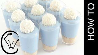 Mini Vanilla Cheesecake Shot Glass Cup Desserts by Cupcake Savvy