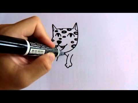 สอนวาดรูปการ์ตูนเสือดาว กวนๆ by วาดการ์ตูนกันเถอะ