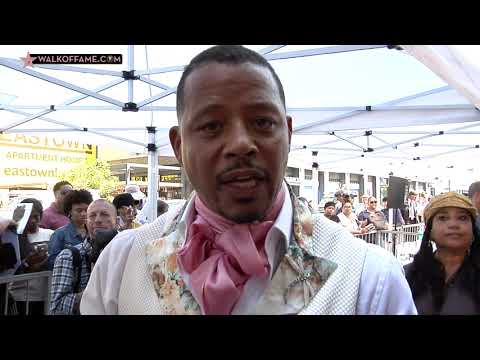 DC - Terrance Howard Receives a Star on the Walk of Fame