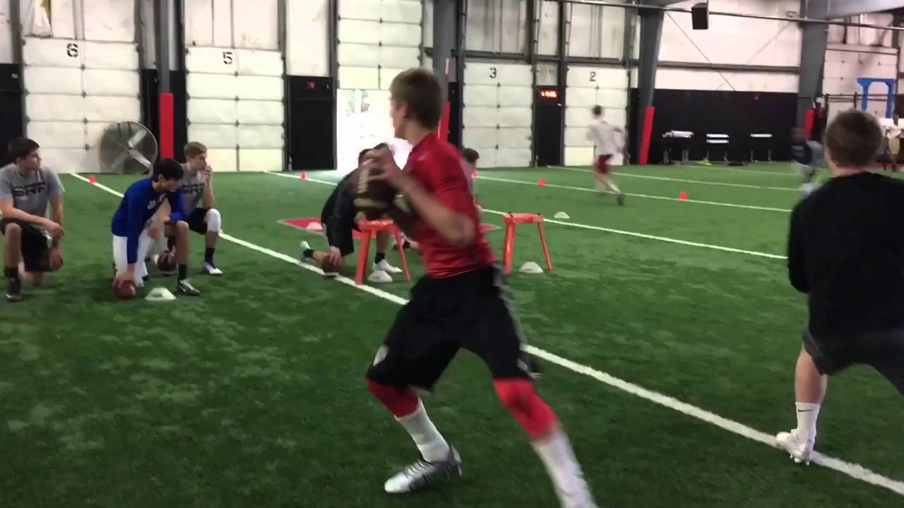 Bill Renner 2016 QB Training Bill Renner Football Day 1 YouTube