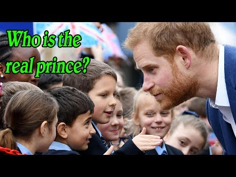 LOL! A boy met Harry but didn't believe he was the real prince