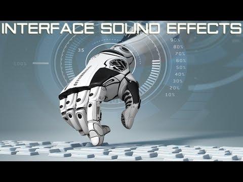 Interface Sound Effects | Futuristic Computer Sci Fi Sound Effects | HUD & UI Sounds