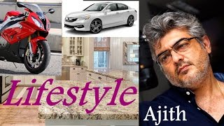 AJITH Luxury LIFESTYLE | Cars | Bikes | Net Worth | Salary | Hobbies | Achievement