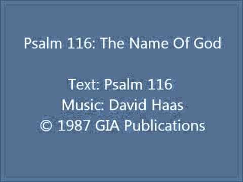 psalm 116 the name of god pdf