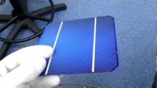 Ogniwo fotowoltaiczne monokrystaliczne Photovoltaic Cell