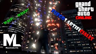 Fuegos Artificiales - Funny Moments - GTA ONLINE PS3- Mauricio Lewis