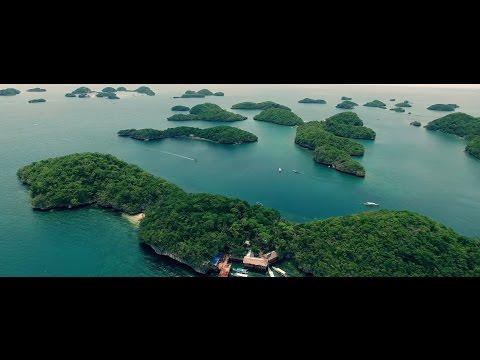 Hundred Islands in Alaminos Philippines w/ DJI Phantom 4 Drone