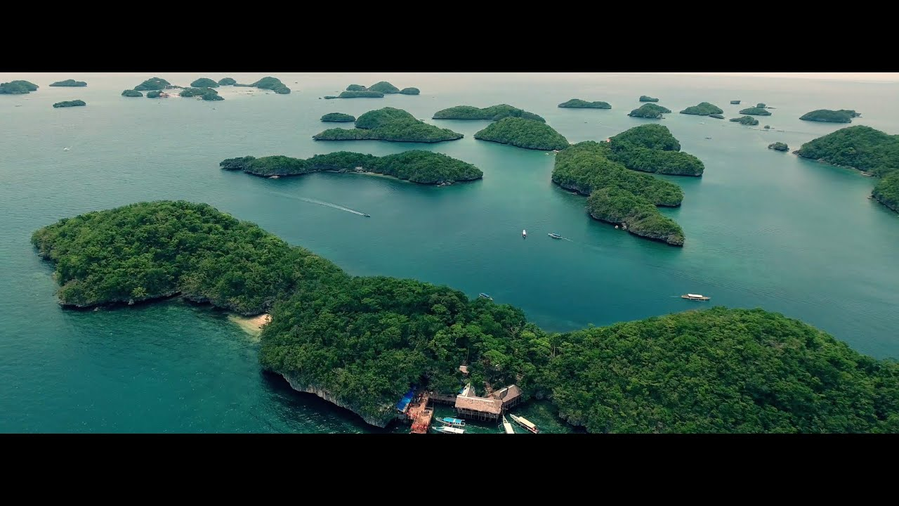Map Hundred Islands Philippines