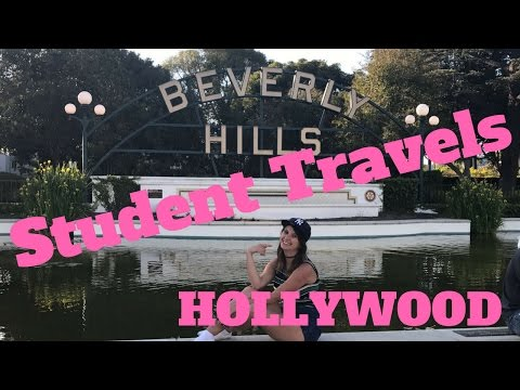 Student Travel Hollywood! + universal studios
