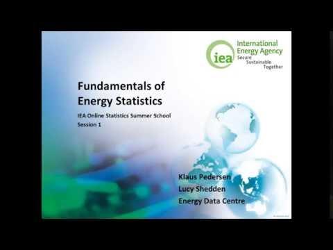 Fundamentals of Energy Statistics
