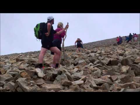 Croagh Patrick Climb 2014