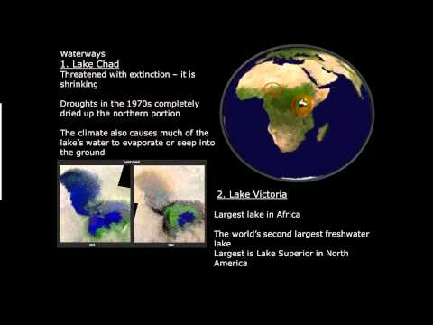 Sub Sahara Africa Physical Geography 1