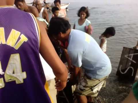 aklan nabas catch the fish