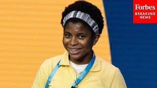 Senator Celebrates Historic Achievement Of Zaila Avant-garde As First Black Spelling Bee Winner