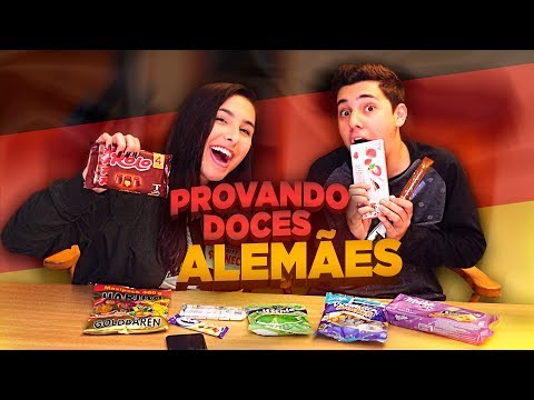 PROVANDO DOCES DA ALEMANHA! | BIBI |