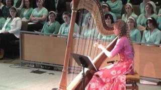 Музыка - Игра на Арфе - Орехова Настя