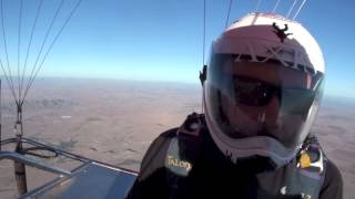Hot Air Balloon Skydiving Eloy Arizona - 1080p HD VERSION