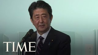 Shinzo Abe Poised To Become Japan's Longest-Serving Leader After Easily Winning Party Vote | TIME