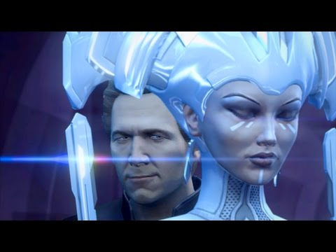 Abraxas and Clu Kill Radia and Destroy Arjia City...