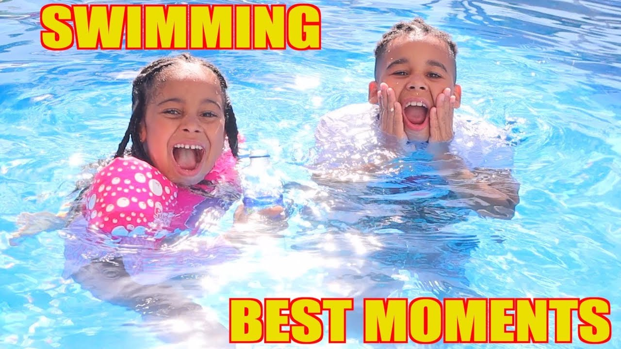 FamousTubeKIDS | SWIMMING POOL BEST MOMENTS