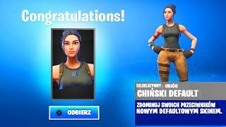 "HOW to GET ""CHINESE"" SKINS FOR FREE in Fortnite! SECRET SKIN! (Chinese Default-Fortnite)"