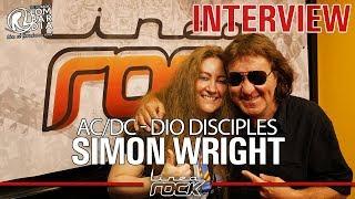 SIMON WRIGHT (Ac/Dc - Dio) - interview @Linea Rock 2018 by Barbara Caserta