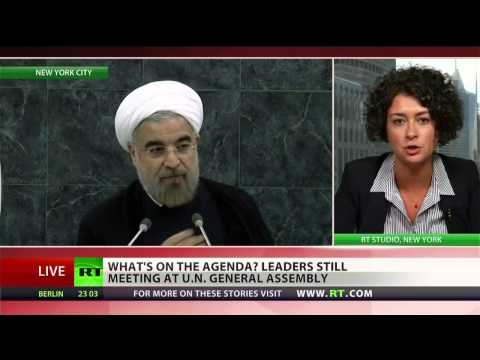 Iran, Syria deals may come out of the UN
