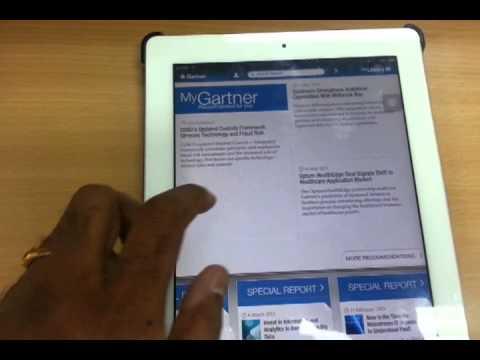 Gartner Ipad App